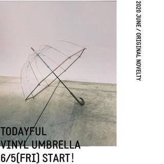 トゥデイフル(TODAYFUL)のtodayful ノベルティ傘(傘)