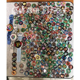 バンダイ(BANDAI)のyspウォッチなどとメダル208枚セット 妖怪ウォッチ(キャラクターグッズ)