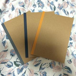 ムジルシリョウヒン(MUJI (無印良品))のノート 3冊セット(その他)
