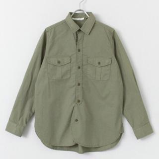 アーバンリサーチ(URBAN RESEARCH)のDOORS コットンワークシャツ(シャツ/ブラウス(長袖/七分))