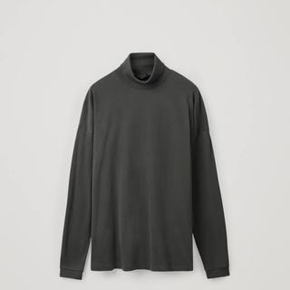 コス(COS)のROLL-NECK COTTON JERSEY TOP タートルネックTシャツ(Tシャツ/カットソー(七分/長袖))