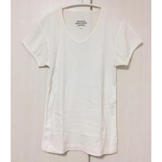 ユナイテッドアローズ(UNITED ARROWS)のpyjama clothing 半袖カットソー Tシャツ コットン 白 ベルギー(Tシャツ(半袖/袖なし))