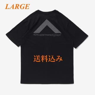 ダブルタップス(W)taps)のWTAPS 20SS 40PCT UPARMORED BLACK LARGE(Tシャツ/カットソー(半袖/袖なし))