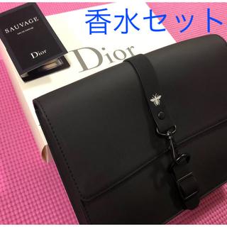ディオール(Dior)の19(金)発送・箱・紐・香水付 Dior クラッチバッグ 非売品 SAUVAGE(セカンドバッグ/クラッチバッグ)