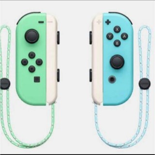 Nintendo Switch どうぶつの森デザイン ジョイコン(家庭用ゲーム機本体)