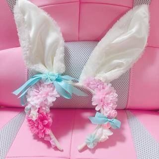 アンジェリックプリティー(Angelic Pretty)のデコレーション、うさ耳(ヘアアクセサリー)