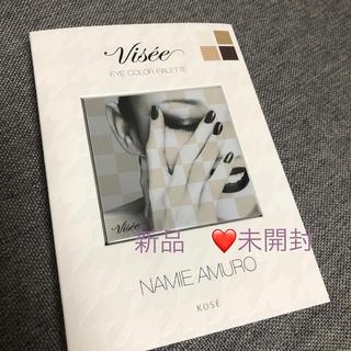 ヴィセ(VISEE)のヴィセ アイパレットNA001 安室奈美恵 アイカラー  新品 未開封(アイシャドウ)