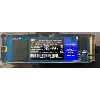 ウエスタンエディション(Western Edition)のWD M.2 NVMe SSD 2280 Blue 1TB SN550シリーズ(PCパーツ)