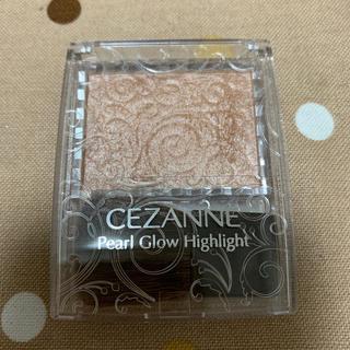 CEZANNE(セザンヌ化粧品) - パールグロウハイライト 02 ロゼベージュ