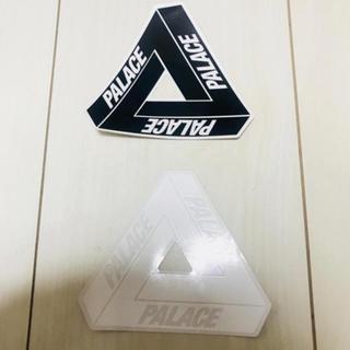 シュプリーム(Supreme)のpalace ステッカー 白黒 2枚セット(ステッカー)