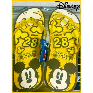 [Disney]ミッキーのサンダル22.5~23.5[夏が来る!](ビーチサンダル)