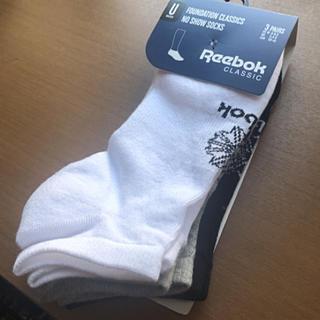 リーボック(Reebok)のReebok 3足セット ソックス 24cm〜26cm 靴下 リーボック 新品(ソックス)