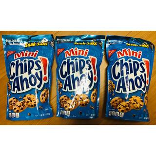 3袋!大容量 chips ahoy クッキー アメリカ チップスアホイ ジッパー(菓子/デザート)