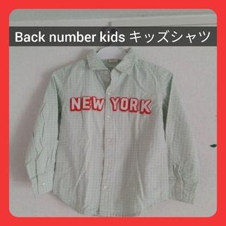バックナンバー(BACK NUMBER)の【送料無料】 キッズ Backnumberkids シャツ Right-on(Tシャツ/カットソー)