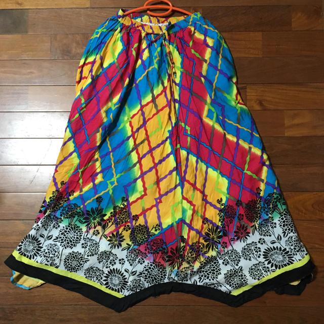 EL RODEO(エルロデオ)のエルロデオ ロングスカート ゴム レディースのスカート(ロングスカート)の商品写真