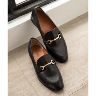 ローリーズファーム(LOWRYS FARM)のLOWRYSFARM ローファー (BLACK) Mサイズ(ローファー/革靴)