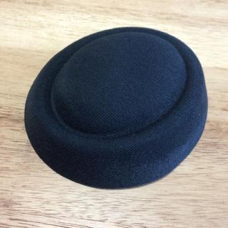 トーク帽 土台 ブラック 結婚式(ハンチング/ベレー帽)