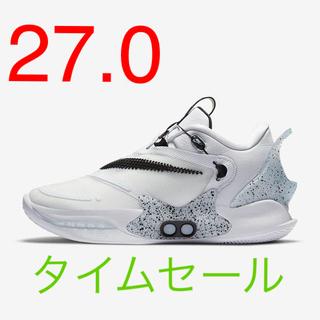 ナイキ(NIKE)のNIKEアダプトBB2.0(27.0センチ)(スニーカー)