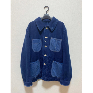 コモリ(COMOLI)のPorter Classic  KENDO FRENCH JACKET (カバーオール)