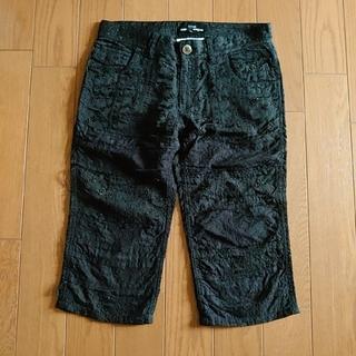 コムデギャルソン(COMME des GARCONS)のトリコ toricot コムデギャルソン 黒 刺繍 パンツ(ハーフパンツ)