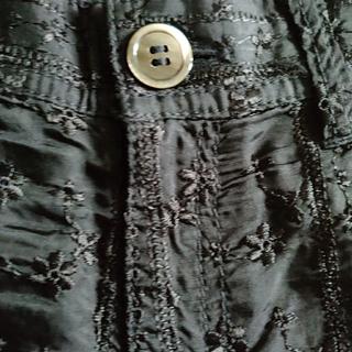 コムデギャルソン(COMME des GARCONS)の追加画像 トリコ toricot コムデギャルソン 黒 刺繍 パンツ(ハーフパンツ)