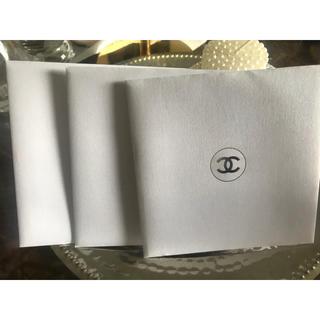 シャネル(CHANEL)のシャネル メッセージカード3枚(カード/レター/ラッピング)