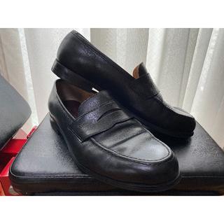 オリヒカ(ORIHICA)のオリヒカ ペニーローファーシューズ 黒 27センチ 72L9003(ドレス/ビジネス)