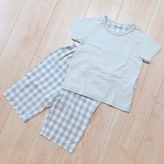 ムジルシリョウヒン(MUJI (無印良品))の無印良品 半袖涼感パジャマ 90-100cm(パジャマ)