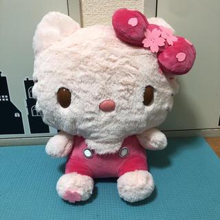 サンリオ(サンリオ)の早い者勝ち!メガジャンボ桜カラーキティ(ぬいぐるみ/人形)