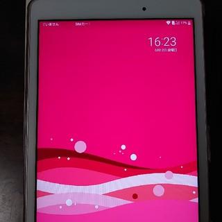 エルジーエレクトロニクス(LG Electronics)のLG Quatab PX ピンク(タブレット)