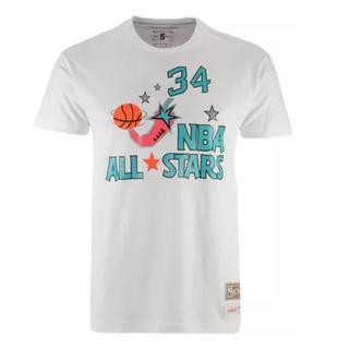 ミッチェルアンドネス(MITCHELL & NESS)のMitchell & Ness オラジュワン NBA T-Shirt【XL】(Tシャツ/カットソー(半袖/袖なし))