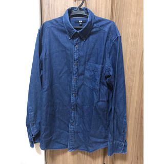 ユニクロ(UNIQLO)のUNIQLO メンズデニムシャツ(シャツ)