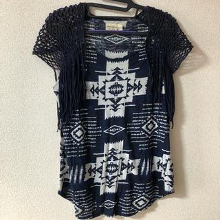 デニムアンドサプライラルフローレン(Denim & Supply Ralph Lauren)のデニムアンドサプライ ネイティブ柄(Tシャツ(半袖/袖なし))