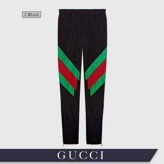 グッチ(Gucci)のGUCCI グッチ ウェブ ディテール レギンス メンズ Mサイズ(その他)