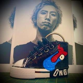 one ok rock taka ヒューマン ピーポー スニーカーキーホルダー(ミュージシャン)