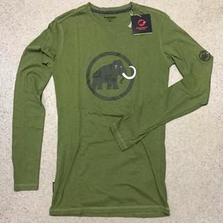 マムート(Mammut)の新品 半額 メンズXS オーガニックコットン ロングスリーブシャツ(登山用品)