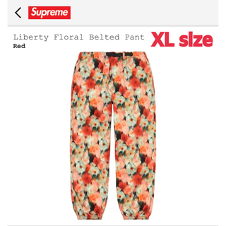 シュプリーム(Supreme)のk&k様専用Supreme Liberty Floral Belted Pant(その他)