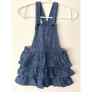 エイチアンドエム(H&M)のH&M ジャンパースカート 110cm(スカート)