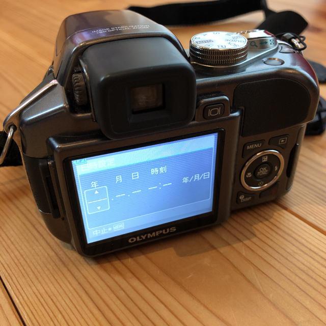 OLYMPUS(オリンパス)の中古 OLYMPUS CAMEDIA SP SP-550UZ スマホ/家電/カメラのカメラ(デジタル一眼)の商品写真