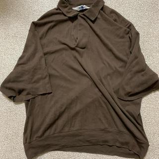 サンシー(SUNSEA)のsunsea harinuki polo(ポロシャツ)