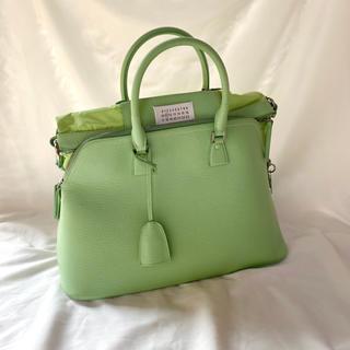 マルタンマルジェラ(Maison Martin Margiela)の【レア】【極美品】maison margiela 5ac パステルカラー bag(ハンドバッグ)