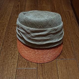 ユナイテッドアローズ(UNITED ARROWS)の麻リボン帽子(キャップ)