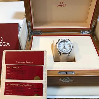オメガ(OMEGA)のオメガプラネットオーシャン42MMホワイトラバー 腕時計(ラバーベルト)