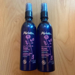 メルヴィータ(Melvita)のmelvita メルヴィータローズウォーター 200ml 2本セット(化粧水/ローション)