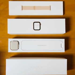 アップルウォッチ(Apple Watch)のApple Watch Series4 GPS+Cellular モデル44mm(スマートフォン本体)
