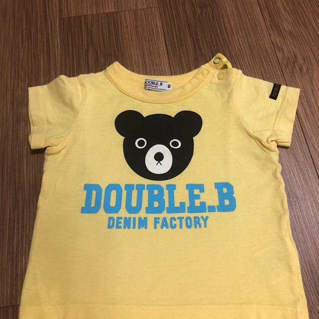 DOUBLE.B(ダブルビー)のダブルビー Tシャツ 80 キッズ/ベビー/マタニティのベビー服(~85cm)(Tシャツ)の商品写真