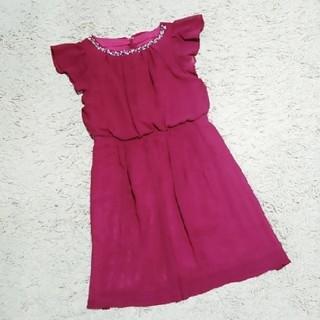 ジャスグリッティー(JUSGLITTY)のジャスグリッティー バックレースワンピース ドレス(ひざ丈ワンピース)