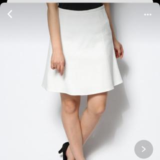 ノーブル(Noble)のフレームワークス☆膝丈ワッフルスカート(ひざ丈スカート)