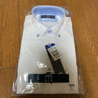【新品タグ付き】青山 メンズ 半袖 カッターシャツ