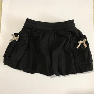 バーバリー(BURBERRY)の値下❤️BURBERRYバルーンスカート☆80黒☆バーバリー超美品(スカート)